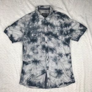 BKE VINTAGE MENS BUTTON DOWN LARGE